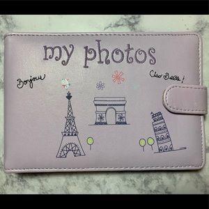 Gymboree travel themed 4 x 6 photo album